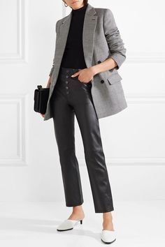 Size 36 or 38 (check fit model) Stella McCartney Maxi Blazer, Tweed Blazer, Fall Fashion Trends, Autumn Fashion, Stella Mccartney, Blazer Outfits For Women, Work Outfits, Oversized Jacket, Michael Kors Collection