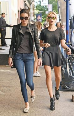 Kendall Out in New York | Her Couture Life www.hercouturelife.com