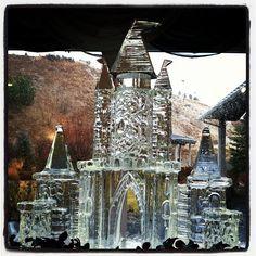 Castle Ice Sculpture