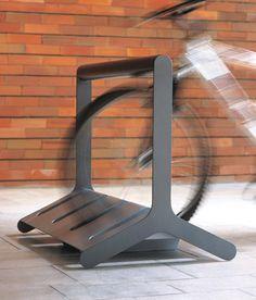 Steel Bicycle rack VELO By design David Karásek, Radek Hegmon Urban Furniture, Street Furniture, Metal Furniture, Cheap Furniture, Discount Furniture, Furniture Plans, Furniture Design, Inexpensive Furniture, Furniture Websites