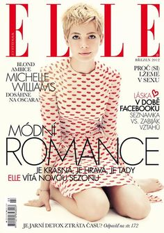 Michelle Williams Elle Magazine Czech Republic March 2012