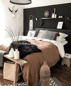 18 Cool Bedroom Decor in Your Home - Bedroom Design Modern Bedroom Design, Master Bedroom Design, Home Decor Bedroom, Bedroom Ideas, Contemporary Bedroom, Bedroom Designs, Master Suite, Bedroom Boys, Bedroom Furniture