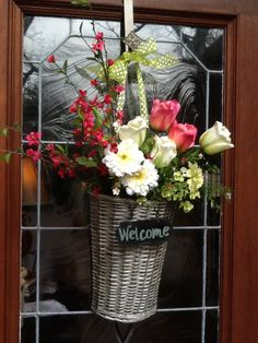 Welcome!  The front door really is the 'centerpiece' of the home...