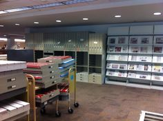 Microforms moved to make way for the Maker Space