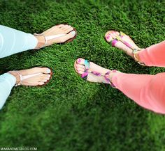 color & pedicures!