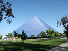 Walter Pyramid, a multi-purpose stadium.