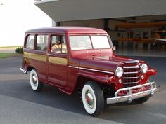 1953 Willys Deluxe Station Wagon - Cars For Sale - Antique Automobile Club of America - Discussion Forums<br> Jeep Suv, Jeep Pickup, Jeep Cars, Jeep Truck, Vintage Pickup Trucks, Old Ford Trucks, Antique Trucks, Antique Cars, Vintage Cars