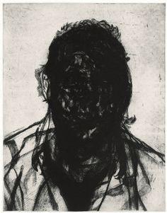 Shop - Glenn Brown - Layered Portrait (after Lucian Freud) 6 - Gagosian Gallery