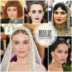 Best of Beauty Met Gala 2018