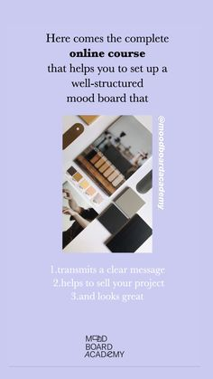 If you are already moodboarding, and the technique is not new to you, but it comes from a perspective of intuition and you would like to improve your skills with some more strategy, then this course might be for you. #moodboardacademy #moodboard
