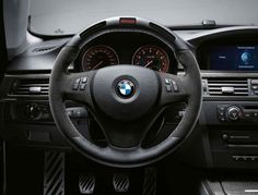 2010 BMW Performance Steering Wheel with integrated Shift Light and Stopwatch