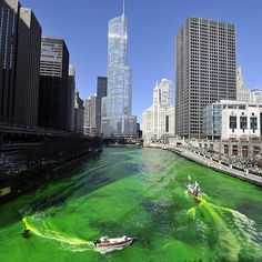 Why St. Patrick's Day in Chicago Is Basically the Best: Irish? More like Chi-rish! With a huge Irish population and a legacy of wild holiday festivities, Chicago is known to be one of the best places to visit to get in the St. Patrick's Day spirit.
