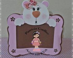 Porta-retrato ursinha