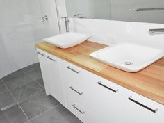 We are specialists in quality custom made timber furniture, bathroom vanities, tables and bench tops. Visit our Maroochydore furniture & homewares showroom. Ensuite Bathrooms, Laundry In Bathroom, Bathroom Renos, Bathroom Vanities, Timber Furniture, Modern Furniture, Timber Vanity, Sunshine Coast, Joinery