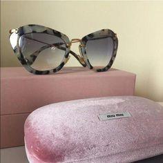 e10ce3841b Miu Miu Sunglasses White Havana 100% UVA  amp  UVB Miu Miu Accessories  Sunglasses