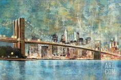 Twilight Crossing Art Print by Georges Generali at Art.com