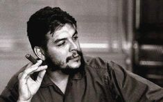 """Ernesto """"Che"""" Guevara: One of the main influences of the RAF ideology. Cuba, Che Guevara Images, Ernesto Che Guevara, Fidel Castro, Camille, Great Leaders, I Icon, Hair And Beard Styles, Spirituality"""