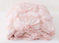 the lazybones jersey comforter- tearose