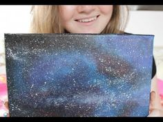 Galaxy Painting Tutorial - YouTube