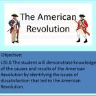 American Revolution | Powerpoint. Students will learn about the American Revolution and the following objective: Virginia SOL USI.6a--The student w...