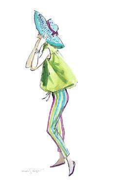 Sandy c.1957 Fashion Illustration / Hilda Glasgow