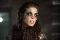 """THE 100 CW 2x16 """"Blood Must Have Blood Part Two"""" #The100 Marie Avgeropoulos - Octavia Blake is mostly not my type, but here she turned out pretty"""