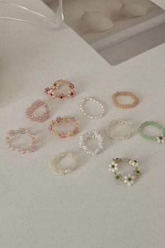 Cute Jewelry, Diy Jewelry, Jewelery, Jewelry Accessories, Jewelry Making, Bead Jewellery, Beaded Jewelry, Colar Diy, Handmade Wire Jewelry