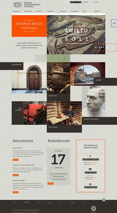 Cracow Saltworks Museum #webdesign
