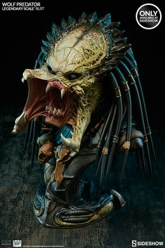 Aliens VS Predator: Requiem Wolf Predator Legendary Scale Bu | Sideshow Collectibles