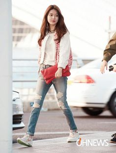 Sooyoung's airport fashion