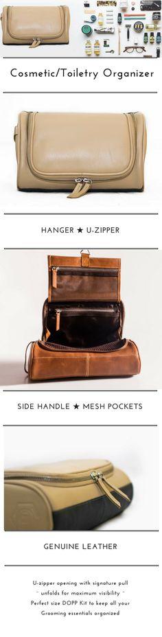 Amazon.com   Toiletry bag Shaving Kit Dopp Kit Groomsmen Gift Leak proof  Travel Case with Hanging Hook- Black   Beauty e1667b34be690