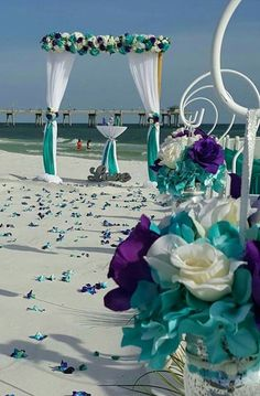 100+ Beach wedding ideas: Bouquet and Decoration ideas / Food and Cake ideas / Interior ideas / DIY ideas