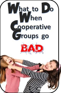 Dragon's Den Curriculum: What to Do When Cooperative Grops go BAD!