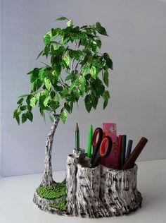одноклассники Diy Crafts Hacks, Diy Home Crafts, Diy Craft Projects, Paper Crafts Origami, Cardboard Crafts, Wire Crafts, Clay Crafts, Flower Crafts, Diy Flowers