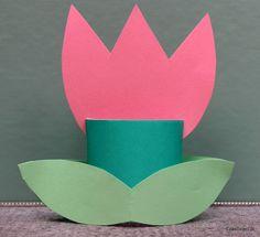 Papierowe tulipany - DIY