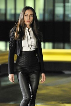 Afbeeldingsresultaat voor Maggie Q in Nikita Royal Teens, Spy Shows, Stevie Ray, Gorgeous Women, Beautiful, Asian Woman, Sexy Dresses, Going Out, Leather Pants