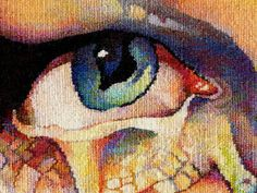 Gabriela Cristu Amazingly talented artist working in tapestry.