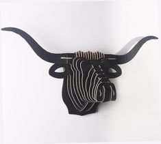 """""""Bull"""" Wooden Steampunk Bull Head Specification: Style: Wall Decoration Craft Material: wood Color: as shown in color option. Wooden Diy, Handmade Wooden, Decor Crafts, Wood Crafts, Puzzles 3d, Wooden Animals, Animal Heads, Craft Materials, Wood Colors"""