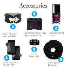Head to Toe Halloween Fashion: Accessories
