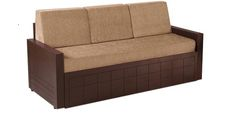 Madelyn Sofa Cum Bed in Brown Colour by Auspicious