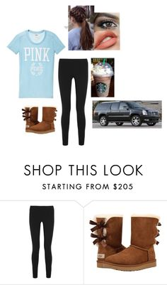 """""""Untitled #280"""" by abbiskate ❤ liked on Polyvore featuring Helmut Lang and UGG Australia"""