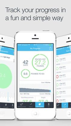 Keep track of your health & fitness goals with this awesome app. :)