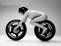 Speed Racer - or the human motorcycle series by Stephan Brauchli Photography