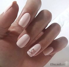 Soft pink and good nails
