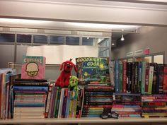 Nadia's bookshelf!