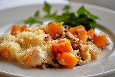 Video•Photo•Blog — Butternut squash casserole – an original recipe....
