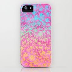 Love it! I feel like when I get tired of the case I have, I can just try painting this pattern over it.