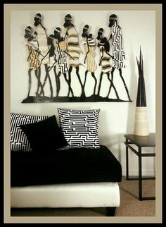 African Decor - Cozy Sitting