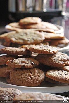 American Cookies wie bei Subway, ein raffiniertes Rezept aus der Kategorie Kekse & Plätzchen. Bewertungen: 882. Durchschnitt: Ø 4,5.