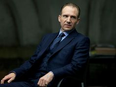 "Gareth Mallory (Ralph Fiennes) in ""Skyfall."" Timothy Everest, I've heard."